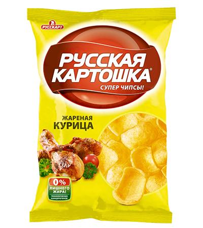"""Русская Картошка """"Курица"""""""