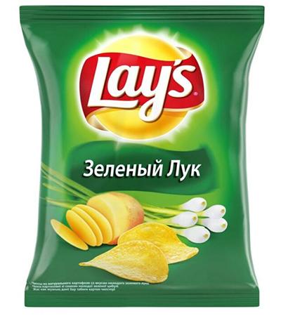 Lays Зеленый лук