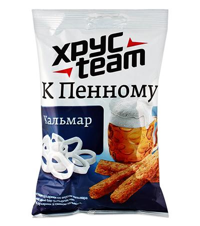 """Хрусteam к пенному """"Кальмар"""" 90г"""