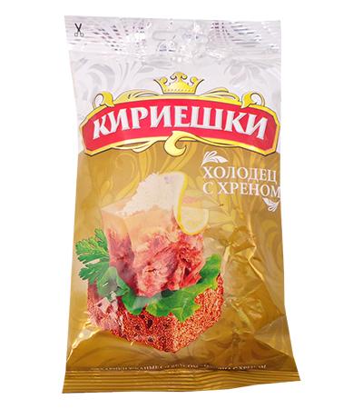 Сухарики Кириешки со вкусом холодца с хреном 100г